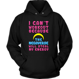 Sailor Moon I Can't Workout Because The Negaverse Will Steal My Energy - NerdKudo - 7