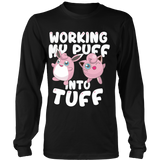 Pokemon Jigglypuff Working My Puff Into Tuff Shirt - NerdKudo - 6