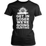 Supernatural Get In Loser We're Going Hunting Shirt - NerdKudo - 12