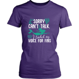 Sorry Can't Talk I Traded My Voice For Fins Shirt - NerdKudo - 9