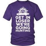 Supernatural Get In Loser We're Going Hunting Shirt - NerdKudo - 3