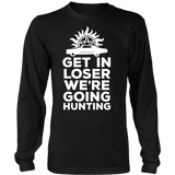 Supernatural Get In Loser We're Going Hunting Shirt - NerdKudo - 8