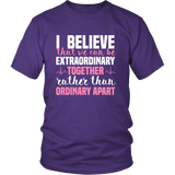 Grey's Anatomy Meredith Grey House Of Candles I Believe That We Can Be Extraordinary Together Shirt - NerdKudo - 2