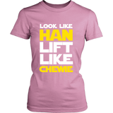 Star Wars Look Like Han Lift Like Chewie Shirt Workout Tanks - NerdKudo - 13