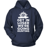 Supernatural Get In Loser We're Going Hunting Shirt - NerdKudo - 10