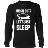 Pokemon Work Out Let's Just Sleep Shirt - NerdKudo - 6