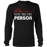 Grey's Anatomy You're My Person Couple Shirt - NerdKudo - 4