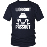 Pokemon Snorlax Workout Then Passout Shirt - NerdKudo - 3