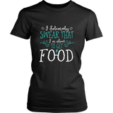 Harry Potter Funny I Solemnly Sweat That I'm About To Get Food Shirt - NerdKudo - 7