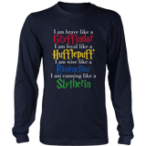 Harry Potter Brave Like A Gryffindor Loyal Like A Hufflepuff Wise Like A Ravenclaw Cunning Like A Slytherin Shirt - NerdKudo - 5