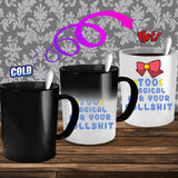 Sailor Moon Too Magical For Your Bullshit Color Changing Mug - NerdKudo - 2
