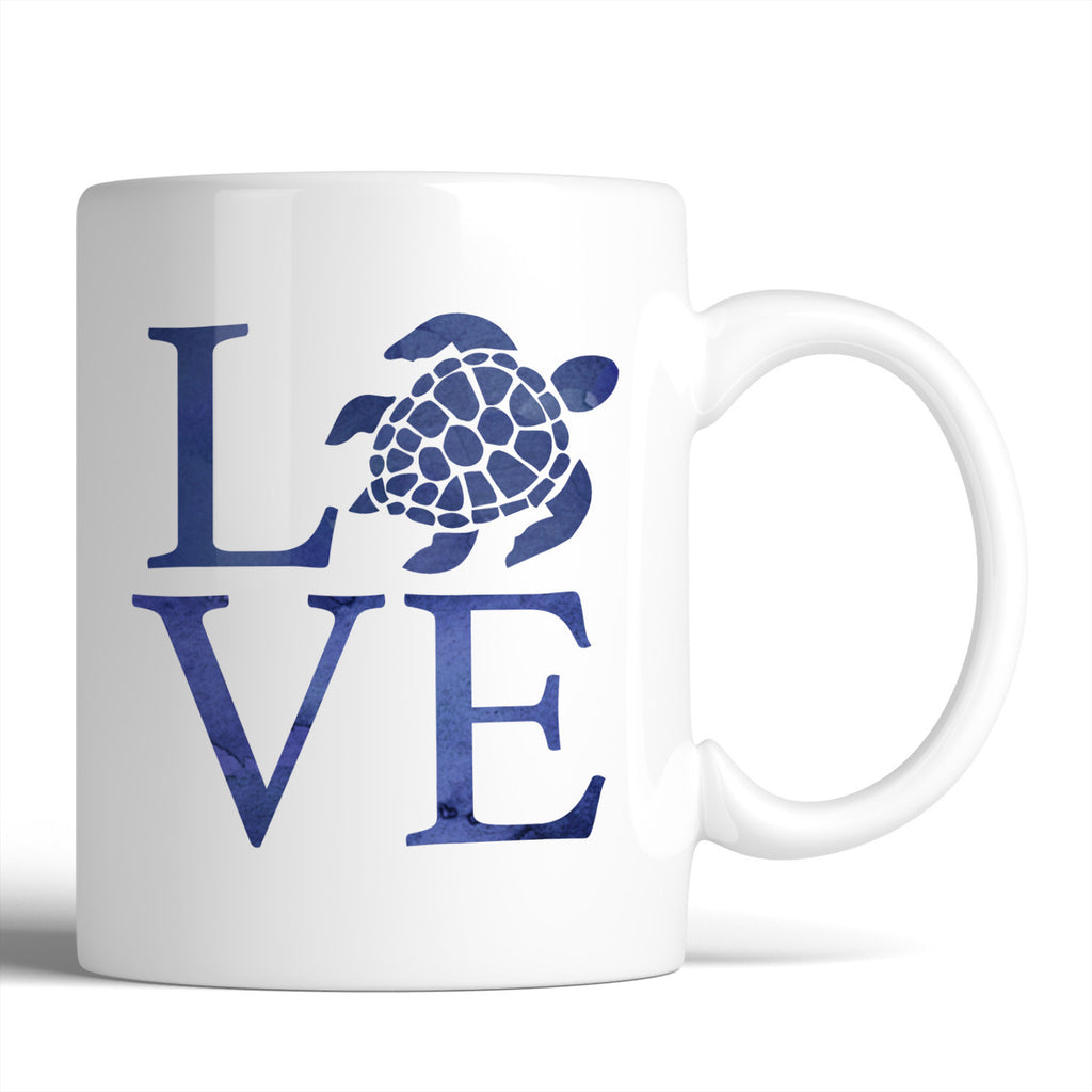 LOVE Sea Turtles 11oz Mug