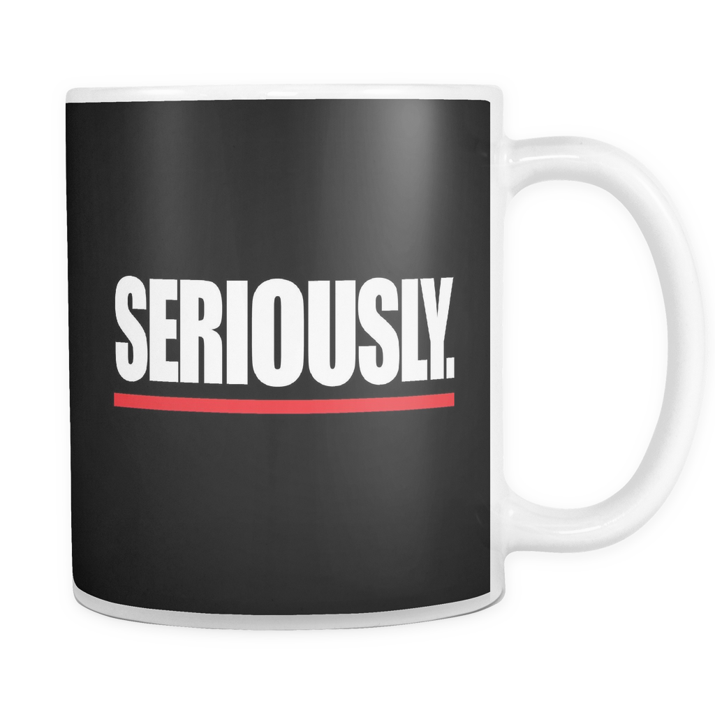 Grey's Anatomy Seriously Mug - NerdKudo - 1