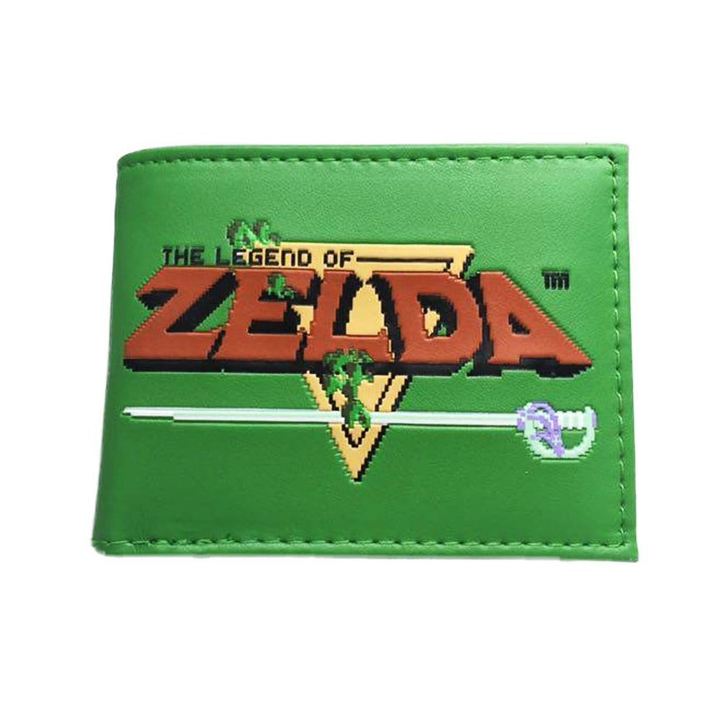 The Legend of Zelda Embossed Bifold Wallet - NerdKudo - 1
