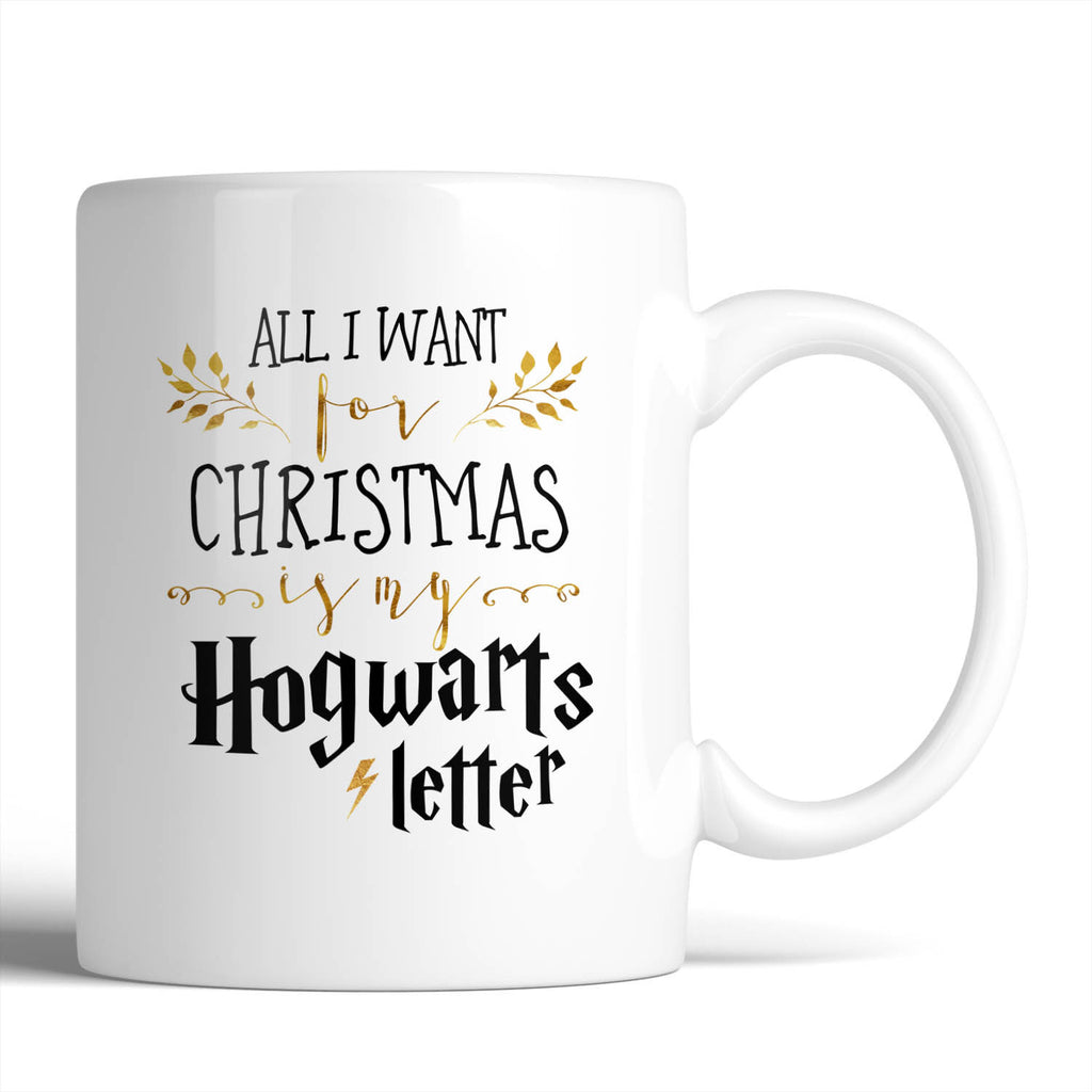 Harry Potter All I Want For Christmas Is My Hogwarts Letter 11oz Mug