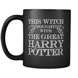 Harry Potter This Witch Fought With The Great Harry Potter Mug - NerdKudo - 2