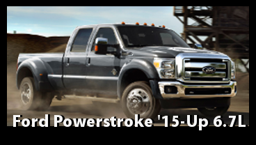 Ford Powerstroke 2015 and 2016 - 6.7L