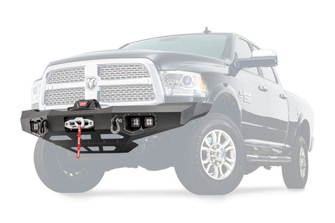 Warn Ascent Front Bumper | 100923 | 2011 - 2018 Ram