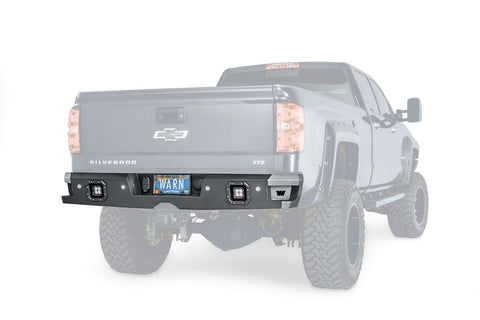 Warn Ascent Rear Bumper | 96550 | 2015 - 2018 Silverado/Sierra HD