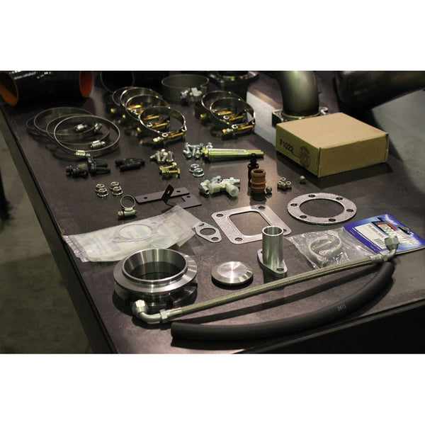 H&S MOTORSPORTS 122007 SX-E TURBO KIT 2011-UP 6.7L POWERSTROKE