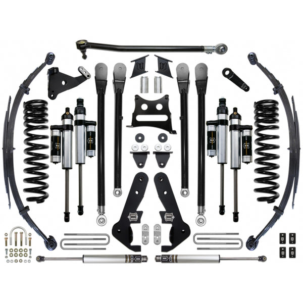 "ICON 7"" Suspension System 4wd Stage 4 