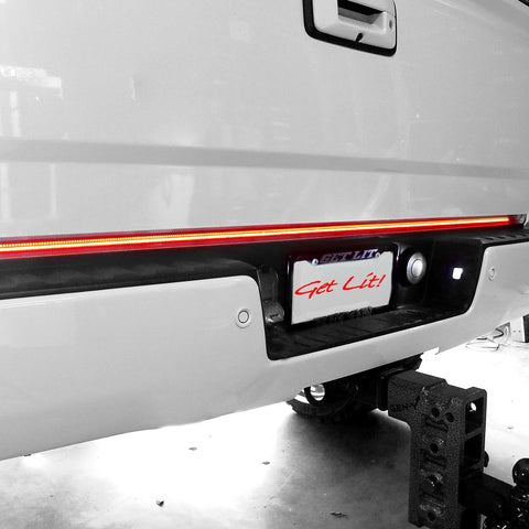 Recon Tailgate Bar W/Amber LED Turn Signals & Brake/Running Lights & White LED Reverse Lights