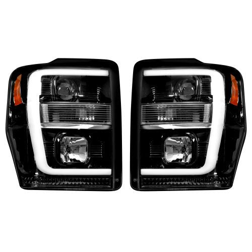 Recon Projector/LED Headlights | 2008 - 2010 Superduty