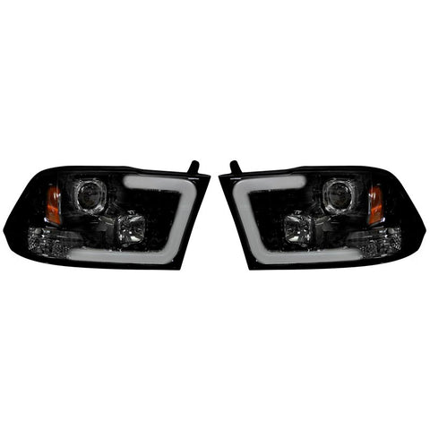 RECON Projector Headlights W/Ultra High Power Smooth OLED DRL | 264270BKC | 2010 - 2014 2500/3500