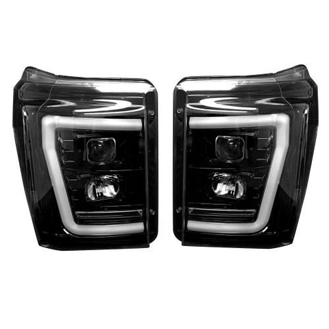Recon Projector/LED Headlights | 2011 - 2016 Superduty