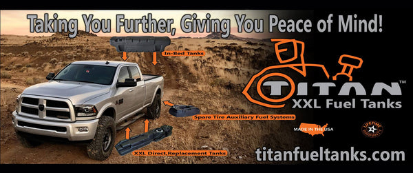 Titan Fuel Tanks Mid-Ship Crew Cab Long Bed Super Series | 7030313 | 2013 - 2019 CUMMINS 6.7L