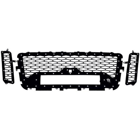 Rigid Industries Front Grille For LED Bar | 2016 - 2017 Titan