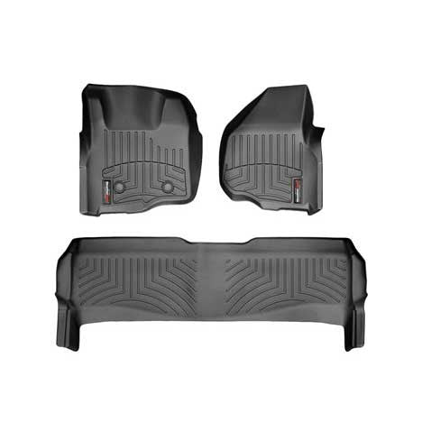 WEATHERTECH DIGITALFIT FLOORLINER SET 2011-2012 Ford F250/F350/F450 (CREW CAB)