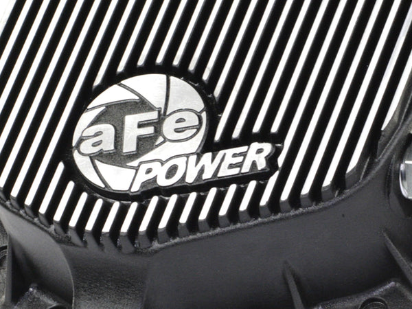 aFe Power Rear Differential Cover, Machined Fins; Pro Series | 46-70012 | 2003 - 2014 CUMMINS 5.9L / 6.7L