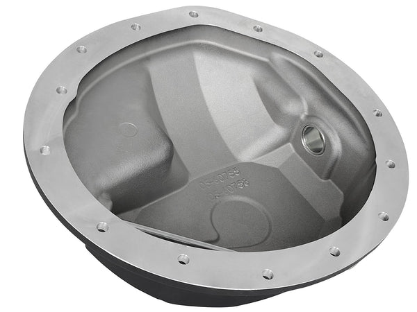 aFe Power Front Differential Cover, Machined Fins; Pro Series | 46-70042 | 2003 - 2012 CUMMINS 5.9L / 6.7L