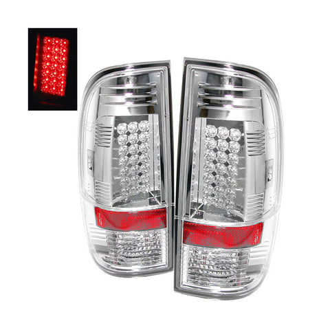 SPYDER 5003904 CHROME LED TAIL LIGHTS