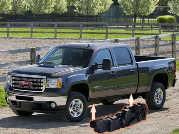 Titan Fuel Tanks Crew Cab Short Bed Super Series | 7010211 | 2011 - 2016 DURAMAX 6.6L LML