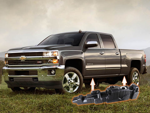 Titan Fuel Tanks Crew Cab Long Bed Super Series | 7010313 | 2013 - 2016 DURAMAX 6.6L LML