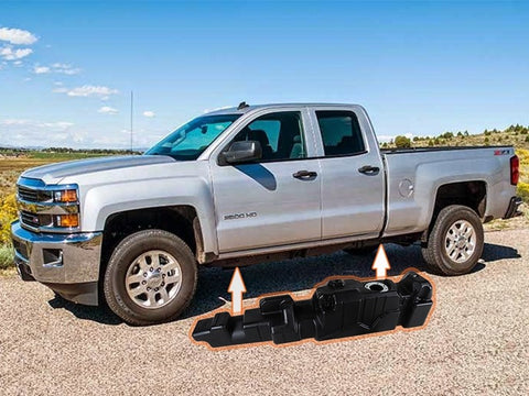 Titan Fuel Tanks Extended Cab Long Bed Super Series | 7010411 | 2011 - 2016 DURAMAX 6.6L LML