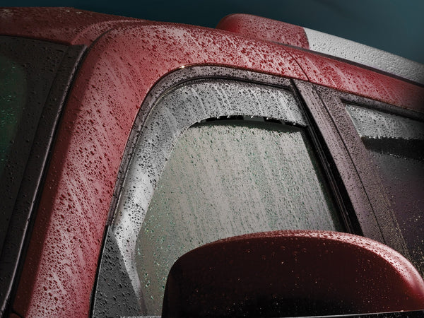 WeatherTech Side Window Deflectors | 2003 - 2009 Ram 2500/3500 Quad Cab