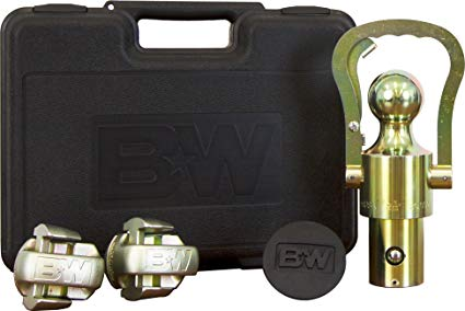 B&W OEM Gooseneck Ball an Safety Chain Kit | Ford/GM/Nissan Trucks