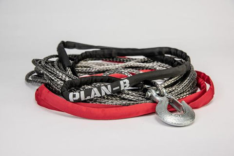 "Plan B ""SPECTRA"" Synthetic Winch Line 1/4"" x 50'"