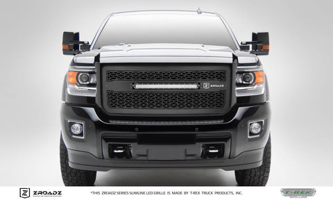 "T-Rex ZROADZ Series Grille Insert W/20"" Slim Line LED Light Bar 