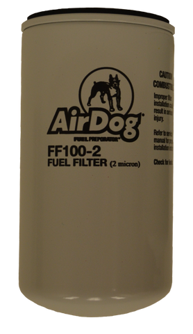 AirDog Fuel Filter 2 Micron | FF100-2 | UNIVERSAL