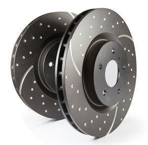 EBC BRAKES - REAR ROTORS (sold in pairs)