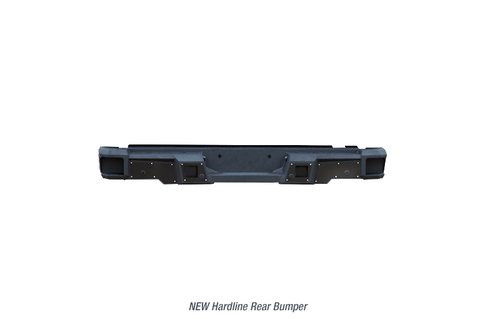 Iron Cross Hardline Rear Bumper | 61-415-15 | 2015 - 2019 F-150