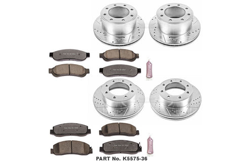 PowerStop Performance Brake Kit | 2009 - 2011 Superduty