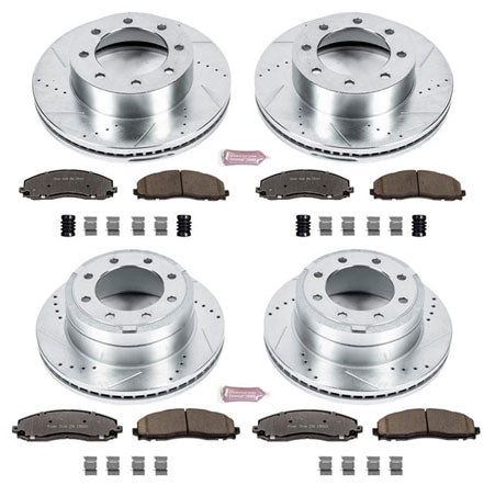 PowerStop Performance Brake Kit | 2013 - 2018 Superduty