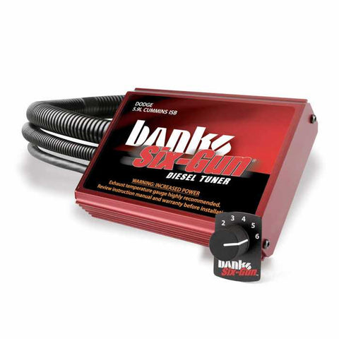 Banks Power Six-Gun Diesel Tuner W/Switch | 2003 - 2007 CUMMINS 5.9L