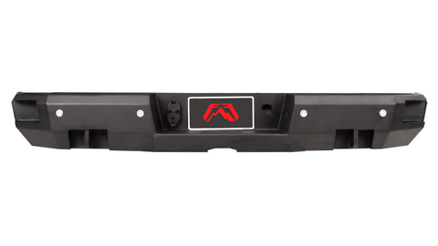 Fab Fours Premium Rear Bumper | Ford Superduty