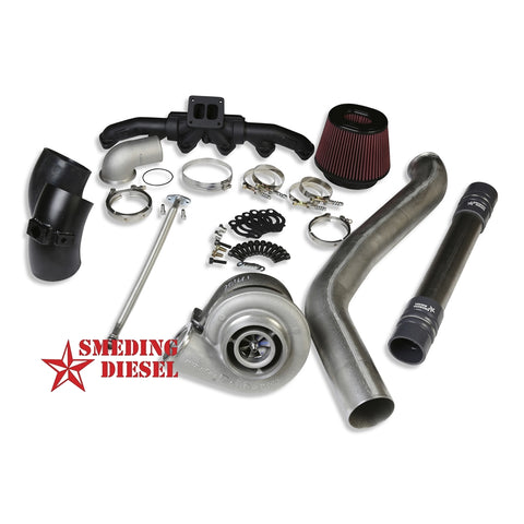 Smeding Diesel S400 Single Kit with Turbo and Manifold | S40067FULLKIT-13 | 2013 - 2017 CUMMINS 6.7L